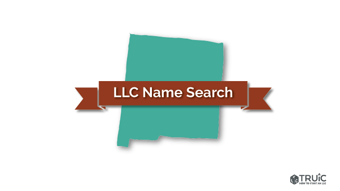 New Mexico LLC Name Search Image