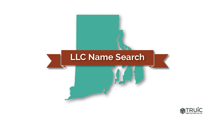 Rhode Island LLC Name Search Image