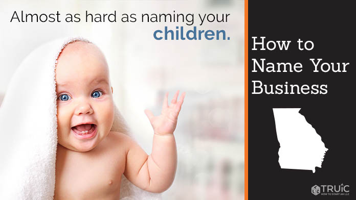 Learn how to name a Georgia business