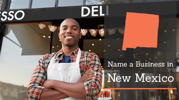 A man standing in front of his own deli