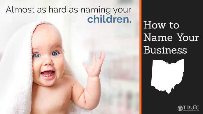 Learn how to name an Ohio business