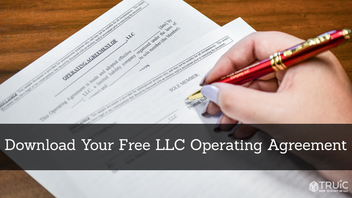 Free LLC Operating Agreement Template: TRUiC Operating Agreement
