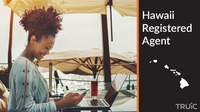 A Hawaii Registered Agent revealing his superhero costume