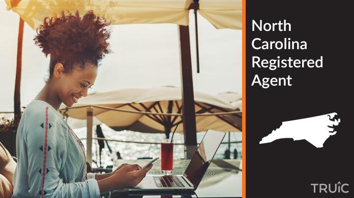 A North Carolina Registered Agent revealing his superhero costume
