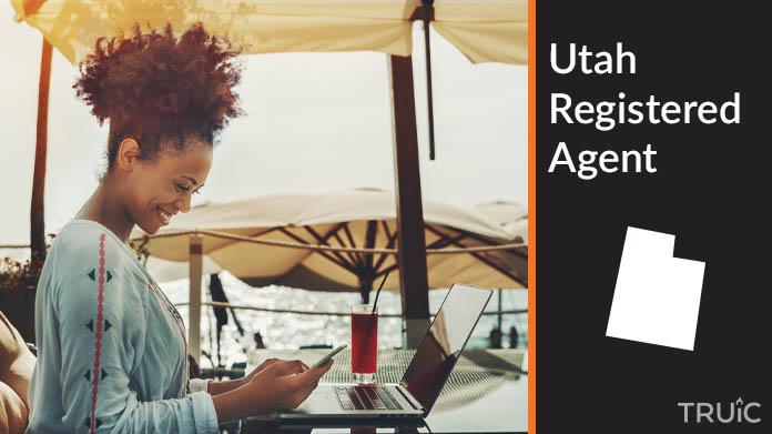 A Utah Registered Agent revealing his superhero costume