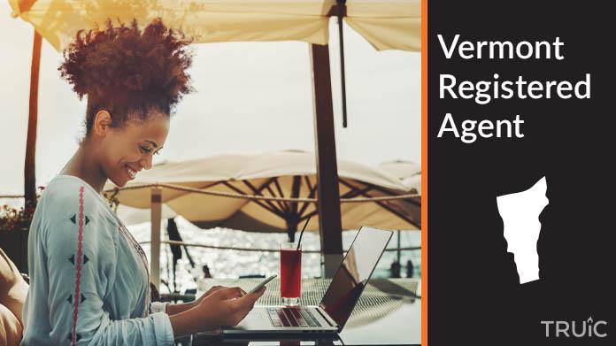A Vermont Registered Agent revealing his superhero costume