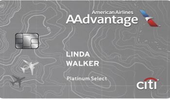 Image of the CitiBusiness AAdvantage credit card