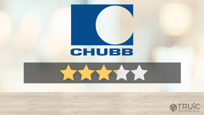 Chubb logo with a star rating of 3.1/5