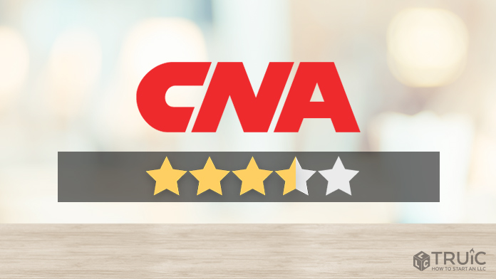 CNA logo with a star rating of 3.5/5