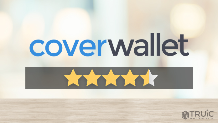 Coverwallet logo with a star rating of 4.5/5
