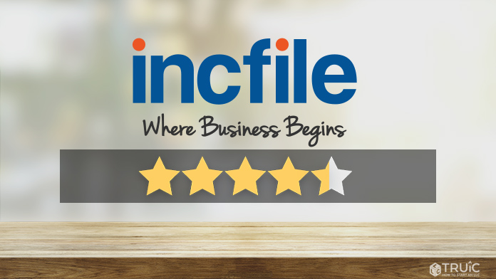 Incfile LLC Formation Review Image.