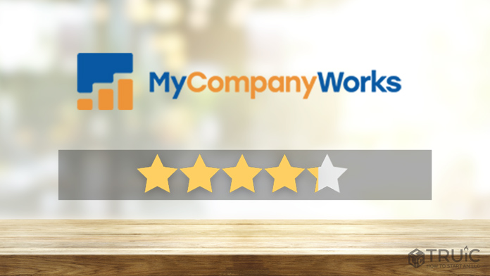 MyCompanyWorks LLC Formation Review Image