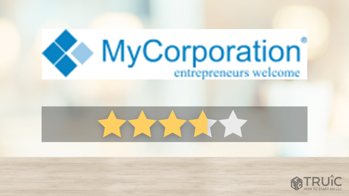 MyCorporation LLC Formation Review Image