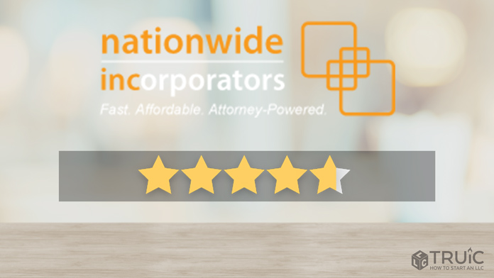 Nationwide Incorporators LLC Formation Review Image