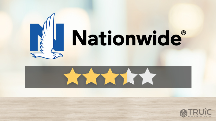 Nationwide logo with a star rating of 3.25/5