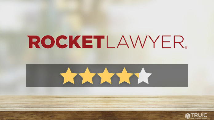 Rocket Lawyer LLC Formation Review Image