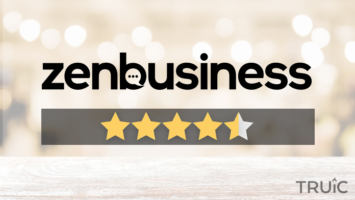 ZenBusiness LLC Services Review Image.