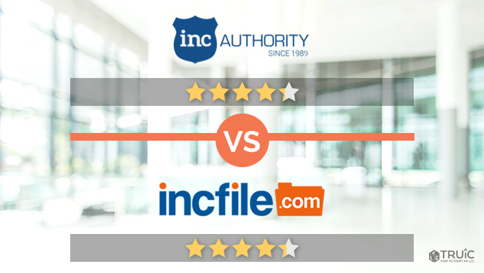 Incfile VS Inc Authority Review Image.