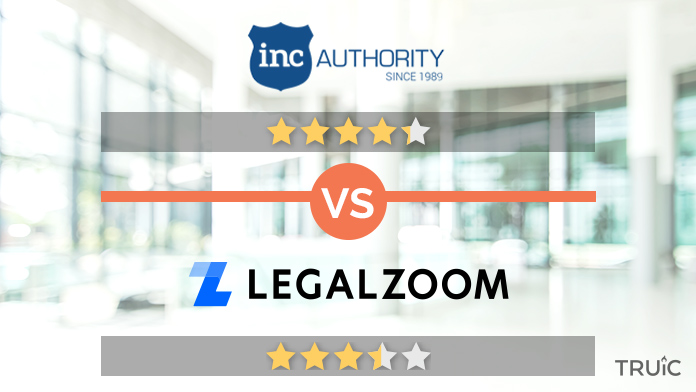 Inc Authority vs LegalZoom Review Image.