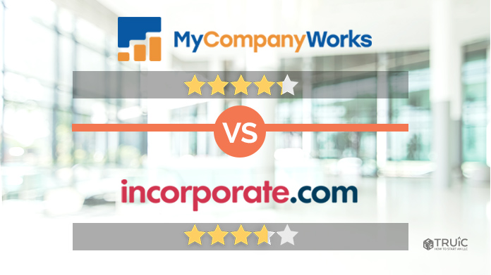 MyCompanyWorks VS. Incorporate.com