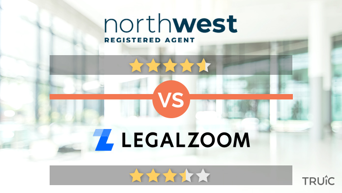 Northwest Registered Agent vs. LegalZoom Review Image