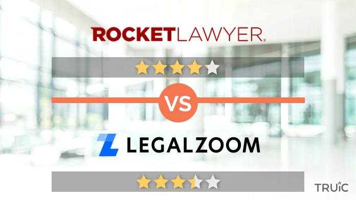 Rocket Lawyer vs Legalzoom Review Image