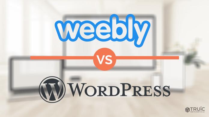 Weebly versus Wordpress.