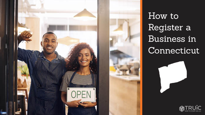 Register a business in Connecticut.
