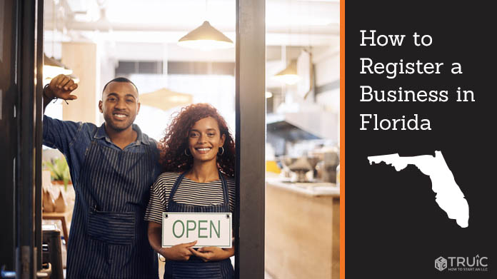 Register a business in Florida.