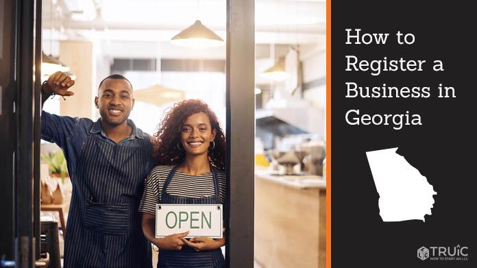 Register a business in Georgia.