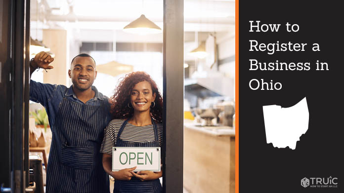 Register a business in Ohio.