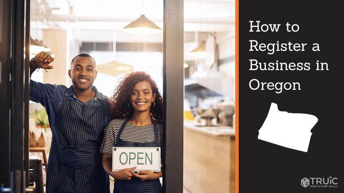 Register a business in Oregon.
