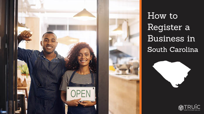Register a business in South Carolina.