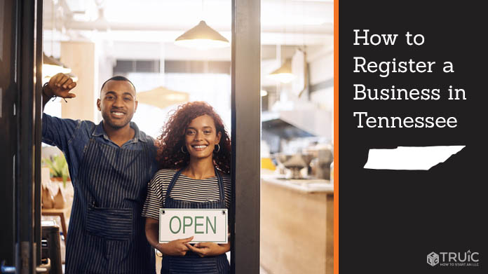 Register a business in Tennessee.