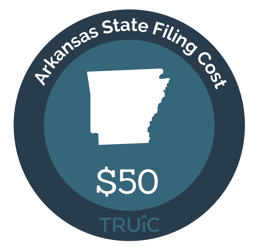Cost to Form an LLC in Arkansas