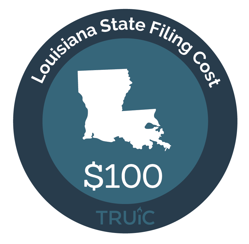 Cost to Start an LLC in Louisiana