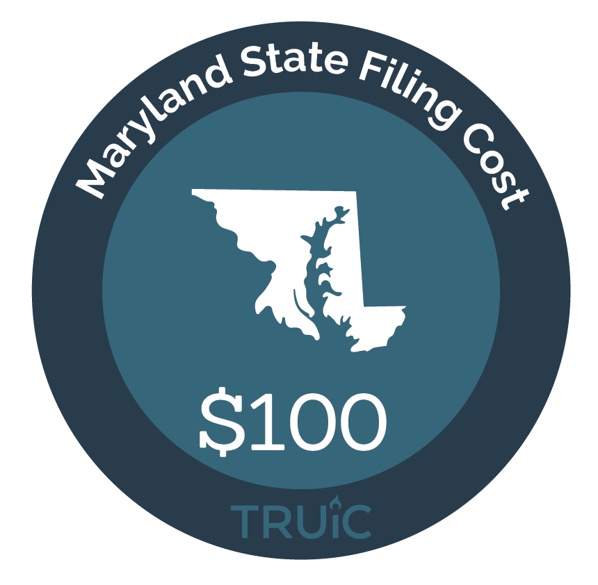 Cost to Start an LLC in Maryland