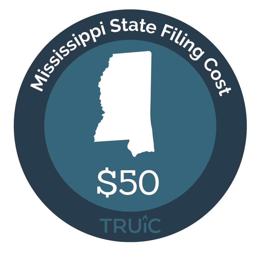 Cost to Start an LLC in Mississippi