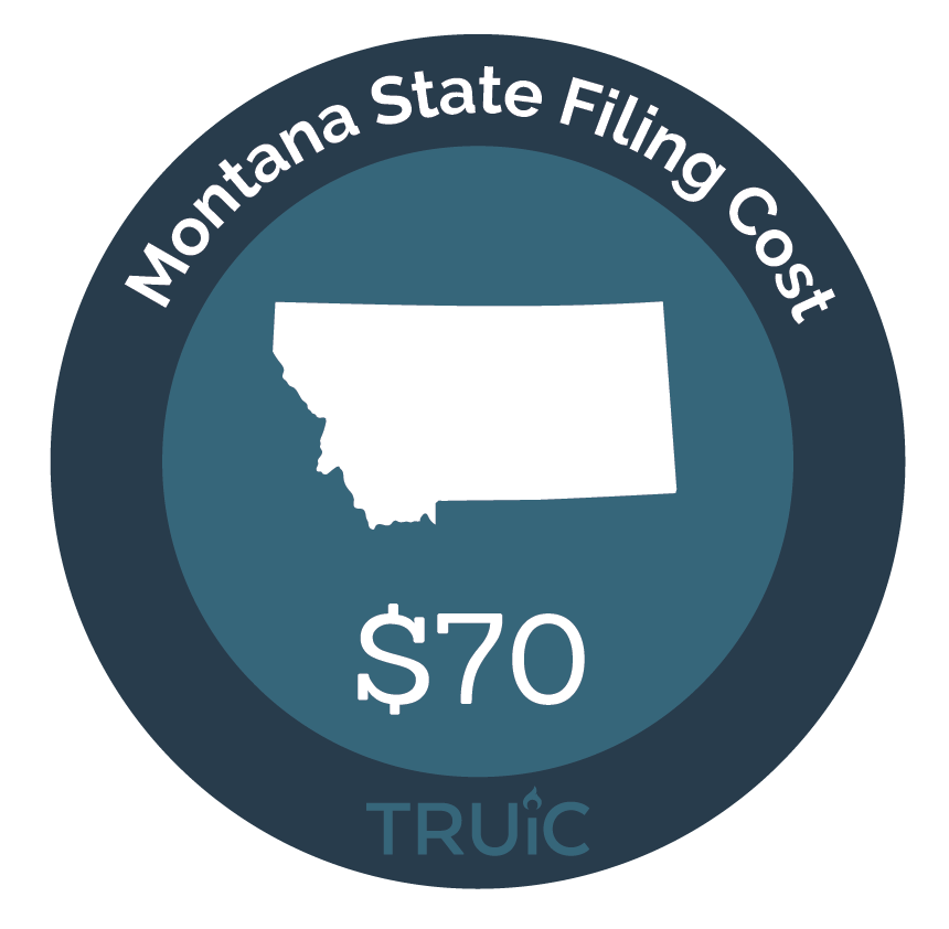 Cost to Start an LLC in Montana