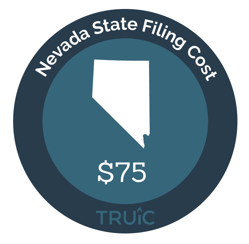 Cost to Start an LLC in Nevada