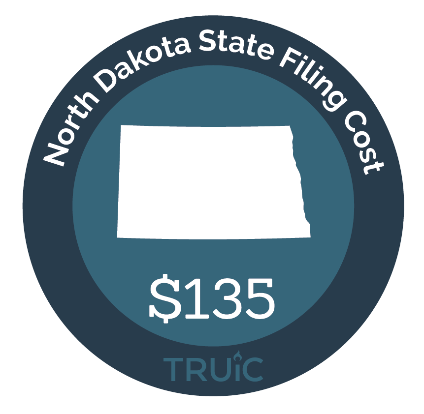 Cost to Start an LLC in North Dakota