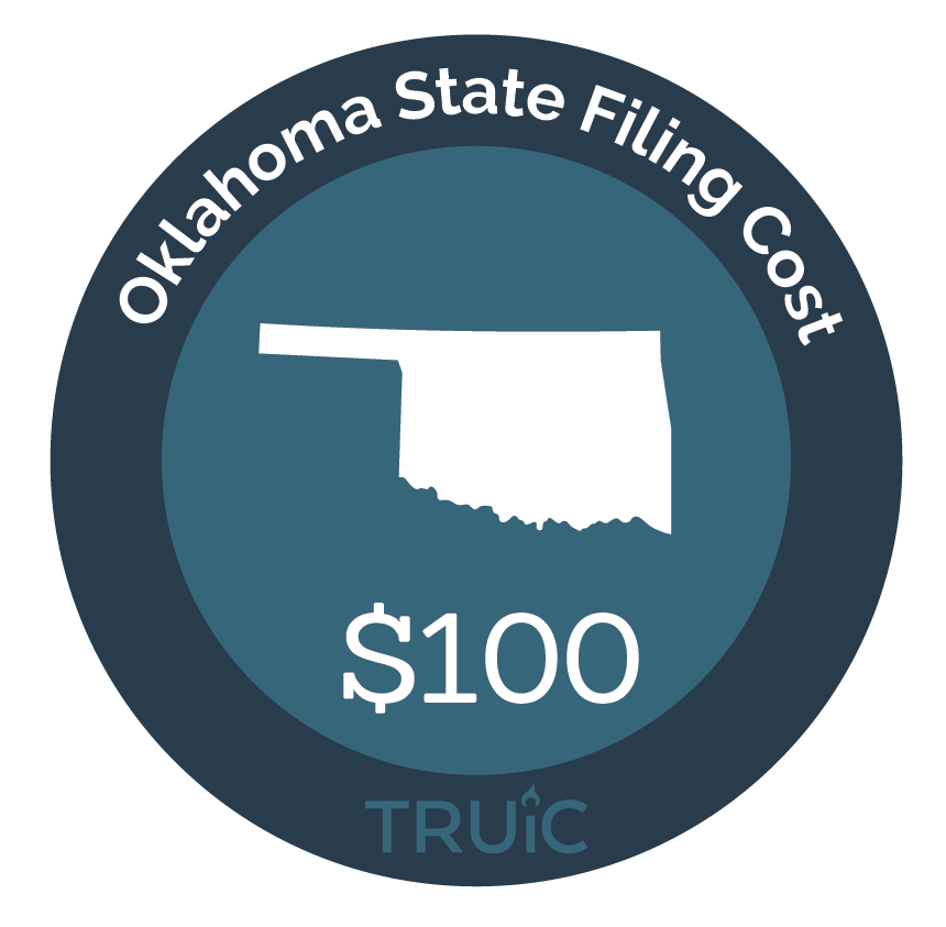 Cost to Start an LLC in Oklahoma