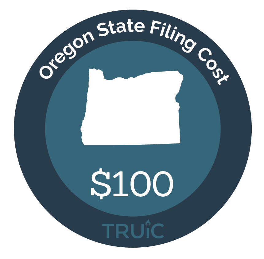Cost to Start an LLC in Oregon