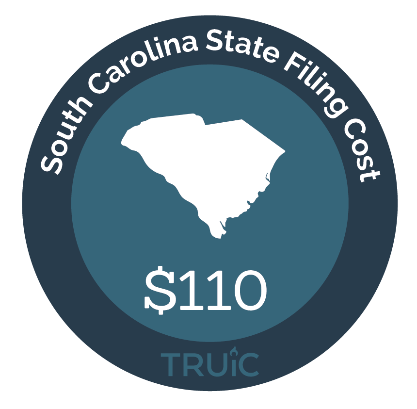 Cost to Start an LLC in South Carolina