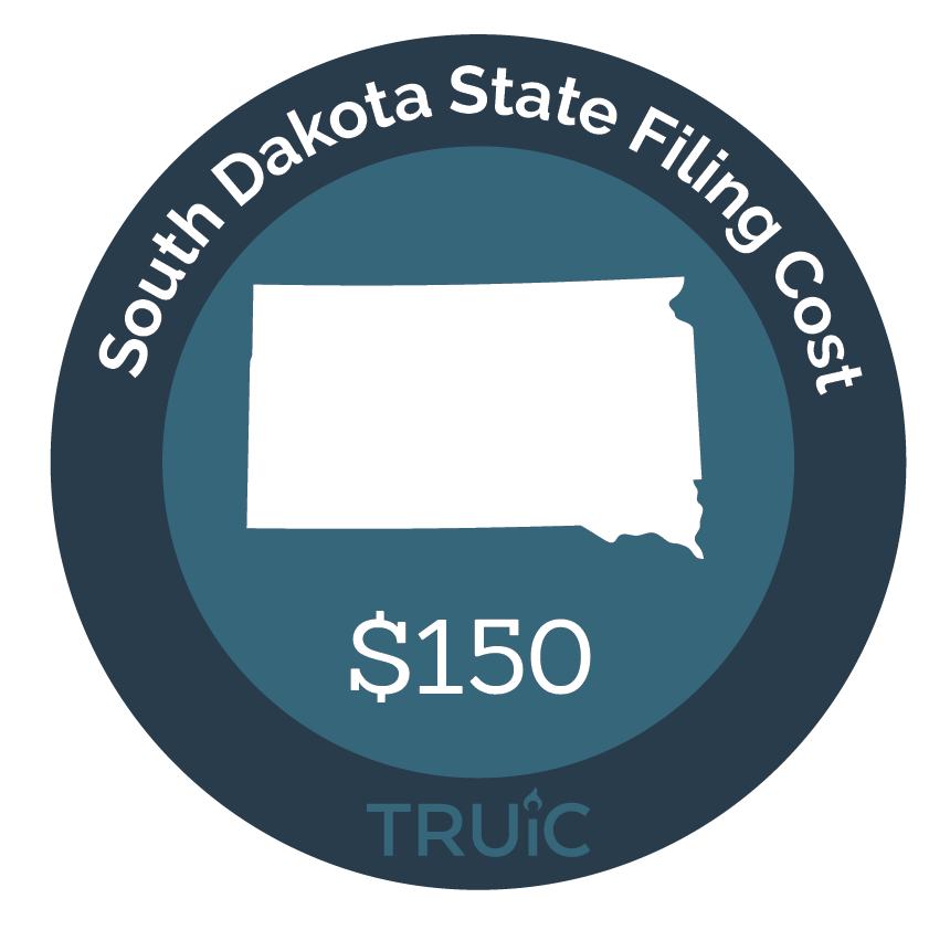 Cost to Start an LLC in South Dakota