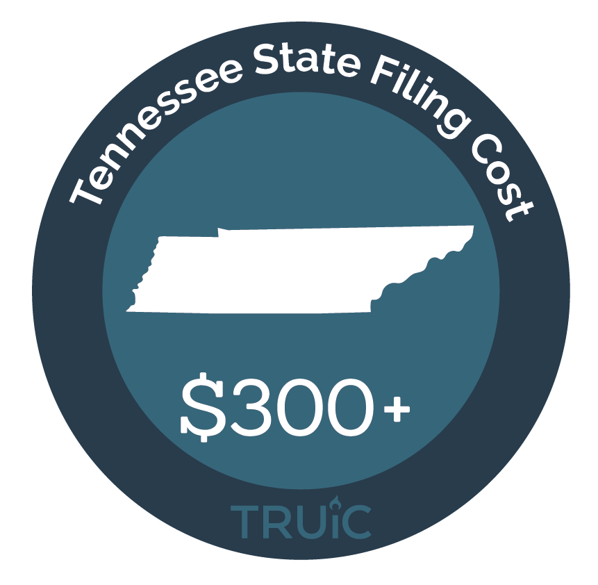 Cost to Start an LLC in Tennessee
