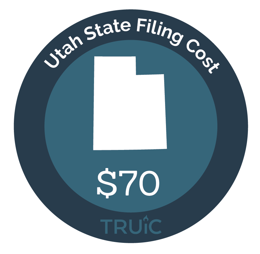 Cost to Start an LLC in Utah