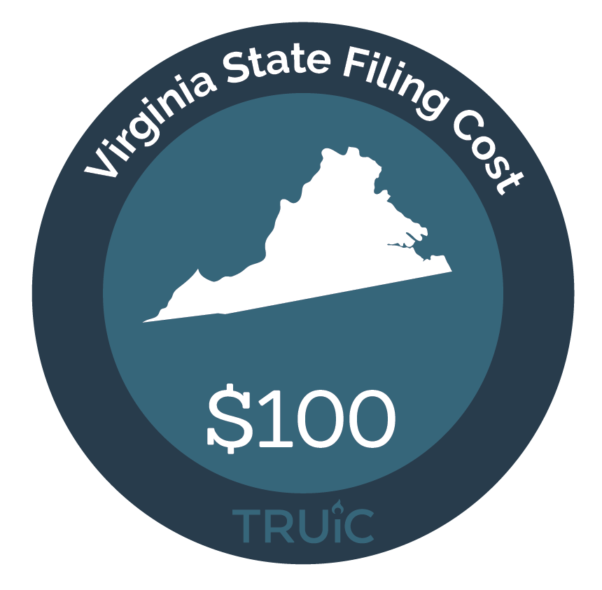 Cost to Start an LLC in Virginia