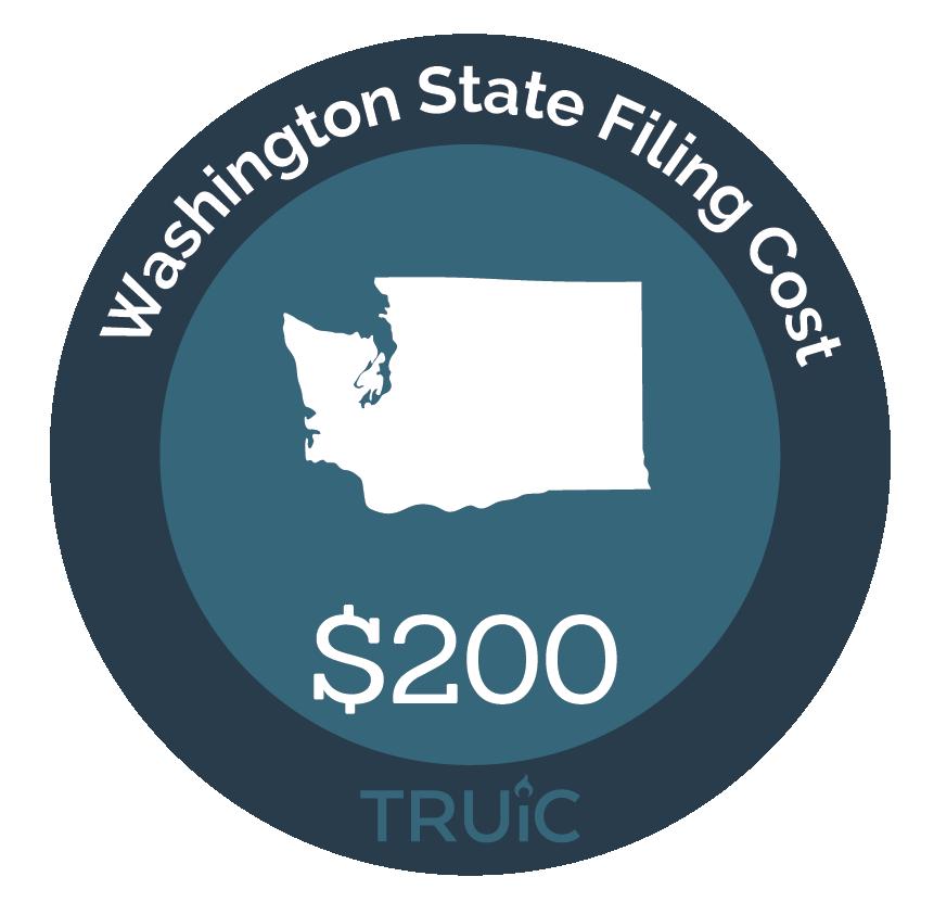 Cost to Start an LLC in Washington