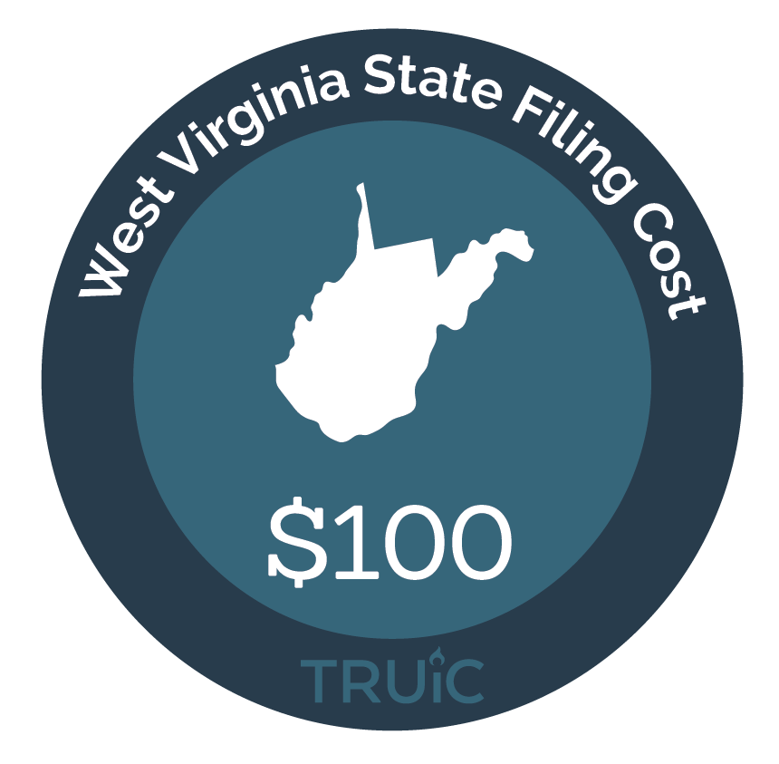 Cost to Start an LLC in West Virginia
